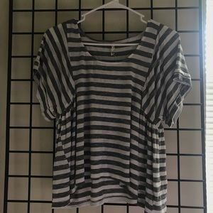 Willow & clay striped shirt